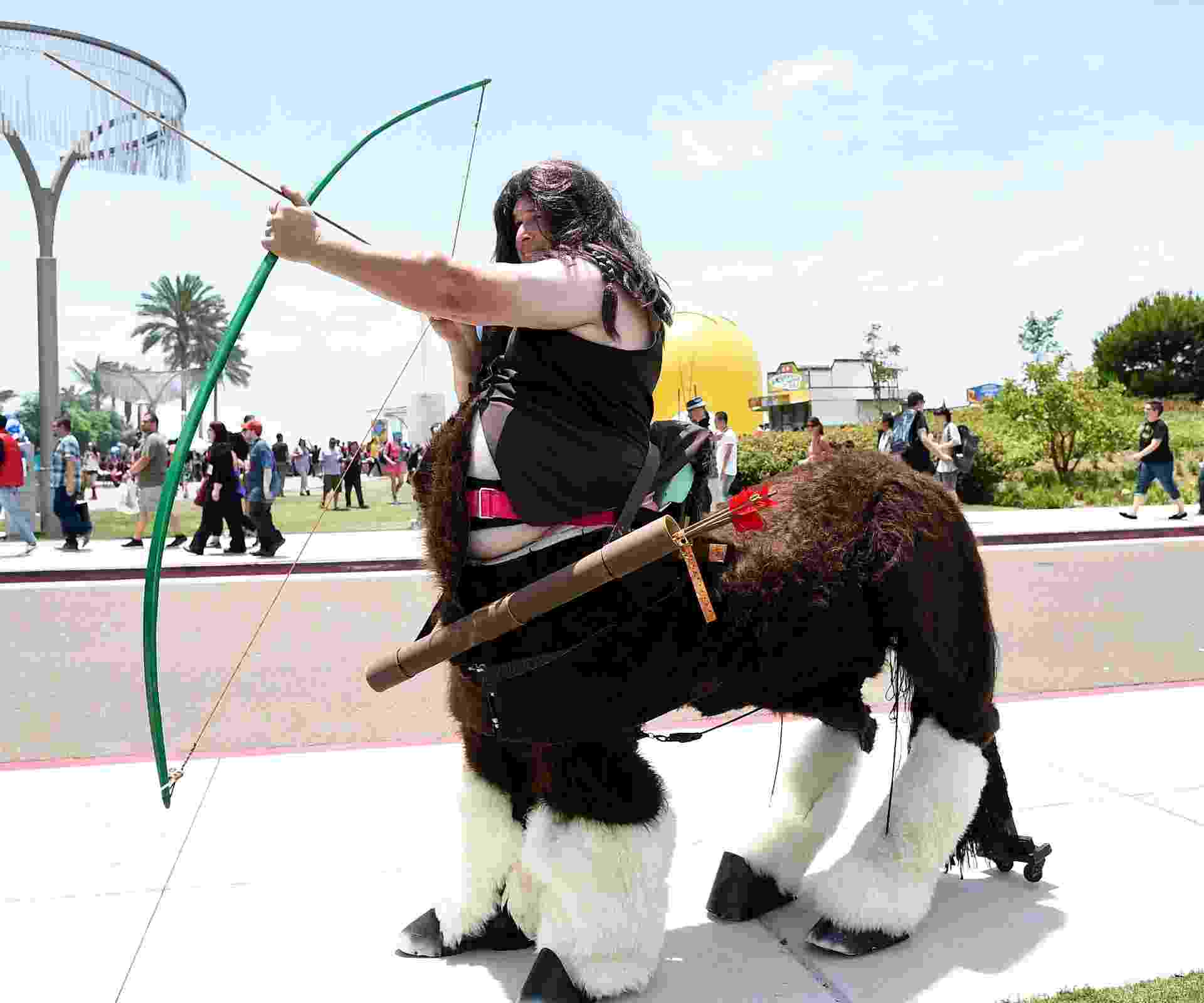 25.jul.2014 - Fã de cosplay na San Diego Comic-Con 2014 - Getty Images