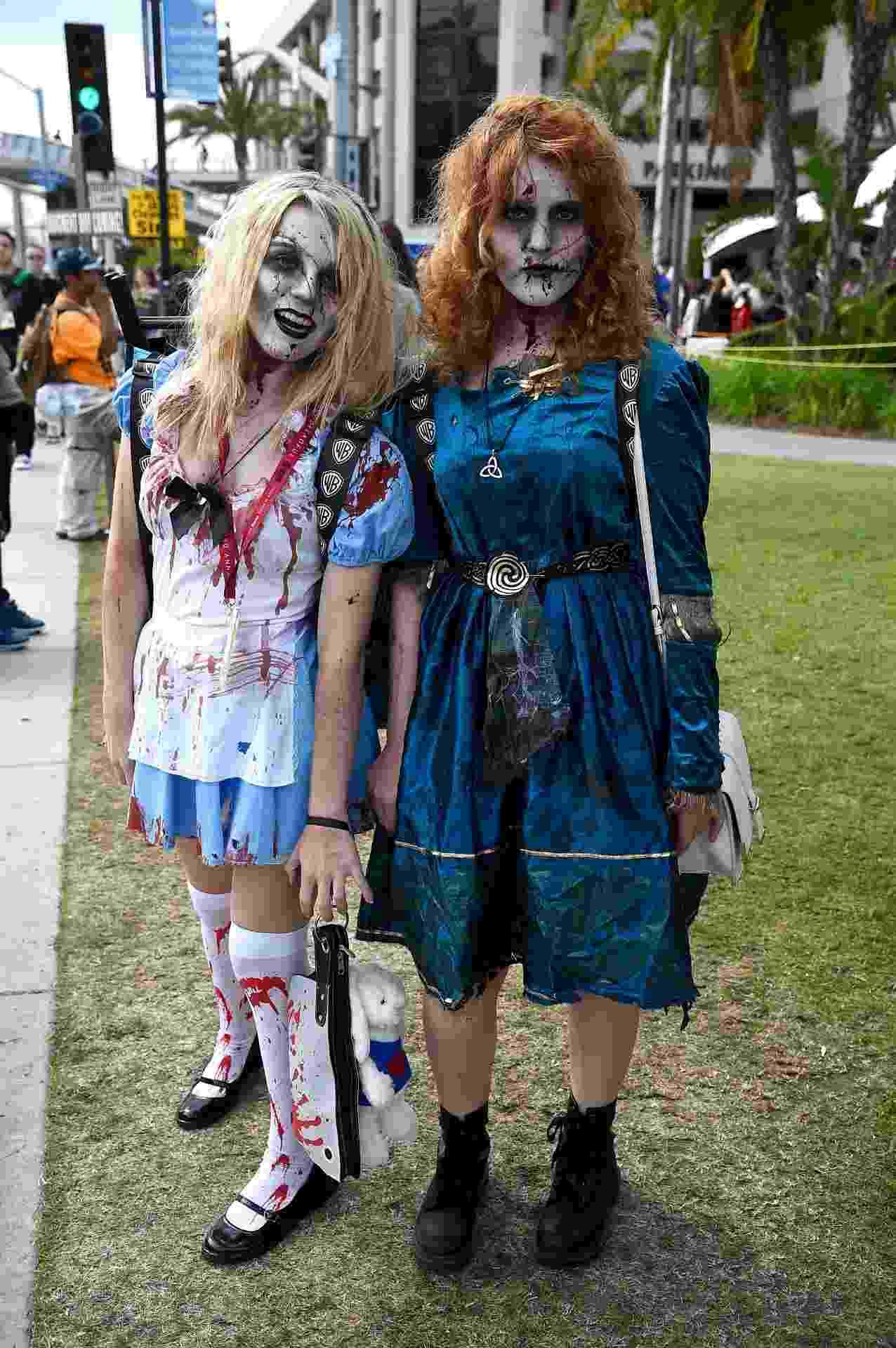 25.jul.2014 - Fãs de cosplay na San Diego Comic-Con 2014 - Getty Images