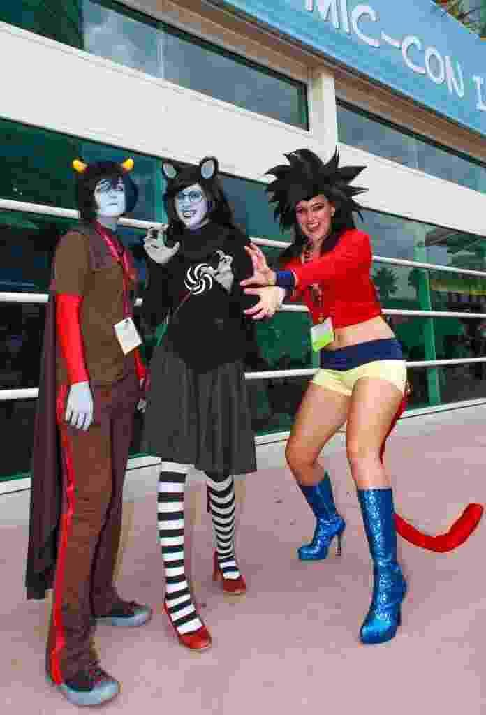 25.jul.2014 - Fãs de cosplay na San Diego Comic-Con 2014 - Zumapress