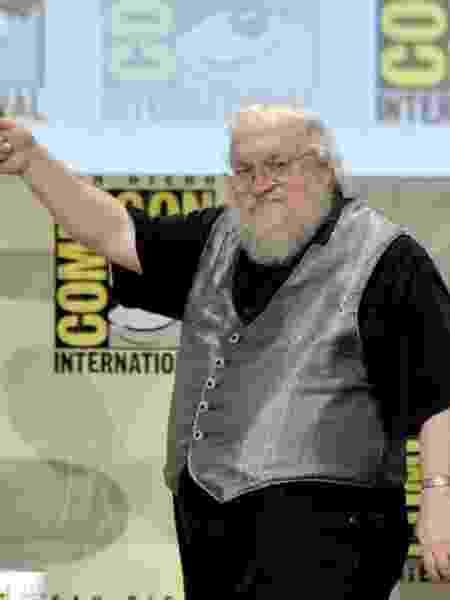 25.julho.2014 - George R.R. Martin na San Diego Comic-Con - Kevin Winter/AFP