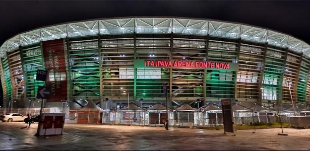 Arena Fonte Nova foi o palco da sede baiana da Copa do Mundo