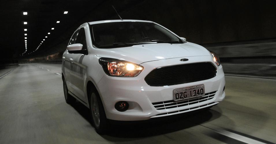 Novo Ford Ka   Parte De R   Ja Com Ar Direcao Eletrica E Bluetooth  Uol Carros