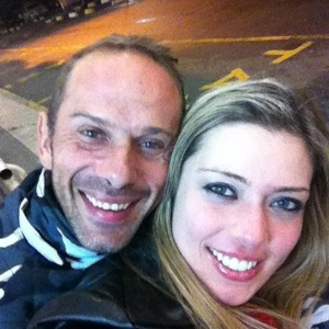 Rafael Ilha e Aline Kezh foram presos com arma no dia 21