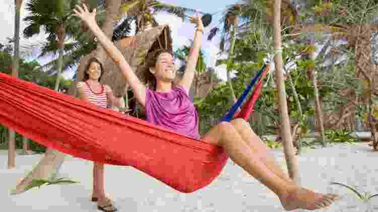 turista, rede, praia, viagem, litoral - Getty Images - Getty Images