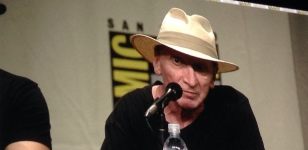 O escritor e artista Frank Miller durante a Comic-Con do ano passado - Natália Engler/UOL