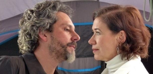 """José Alfredo e Maria Marta, da novela """"Império"""", vivem um casamento de fachada - ReproduçãoGshow/Império"""