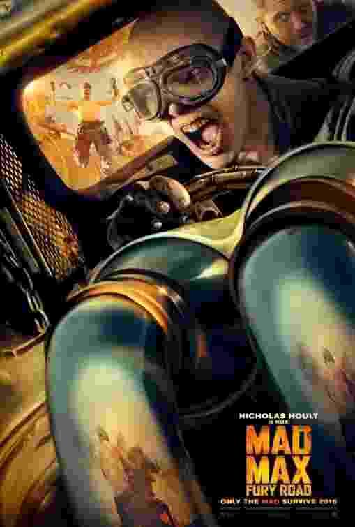 """Nicholas Hoult em """"Mad Max: Fury Road"""" - Reprodução"""
