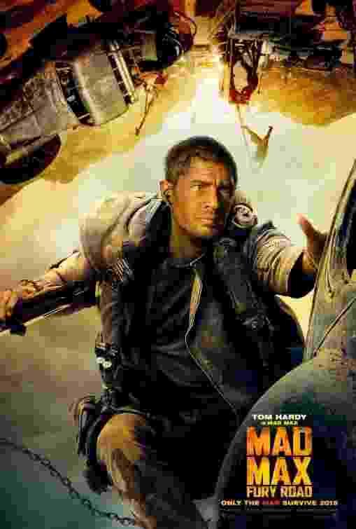 Tom Hardy em Mad Max: Fury Road - Reprodução