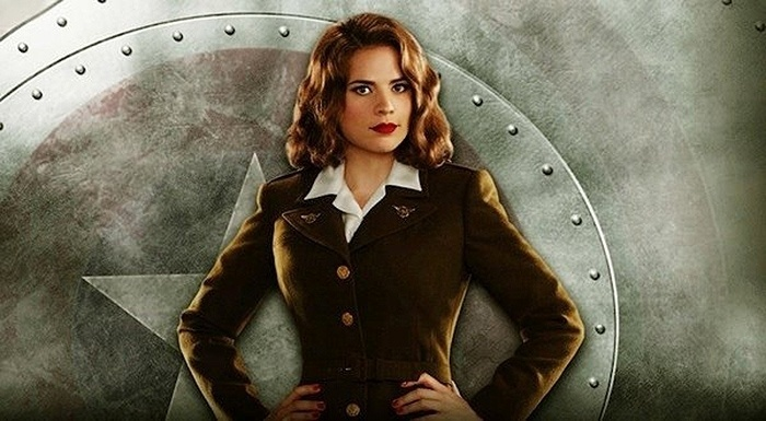 """Peggy Carter em foto de divulgação da série """"Agent Carter"""""""