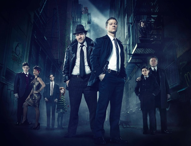 """Personagens da série """"Gotham"""""""