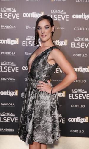 28.jul.2014 - A atriz Adriana Birolli prestigou a 16ª edição do Prêmio Contigo! de TV, realizado no hotel Copacabana Palace, no Rio