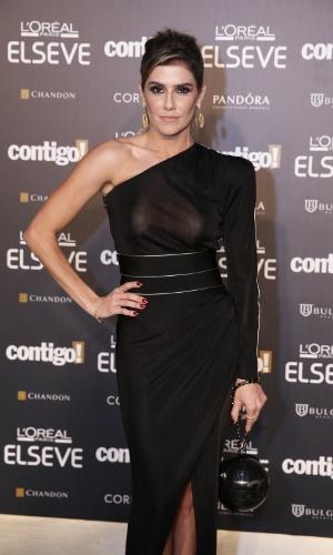 28.jul.2014 - A atriz Deborah Secco prestigou a 16ª edição do Prêmio Contigo! de TV, realizado no hotel Copacabana Palace, no Rio