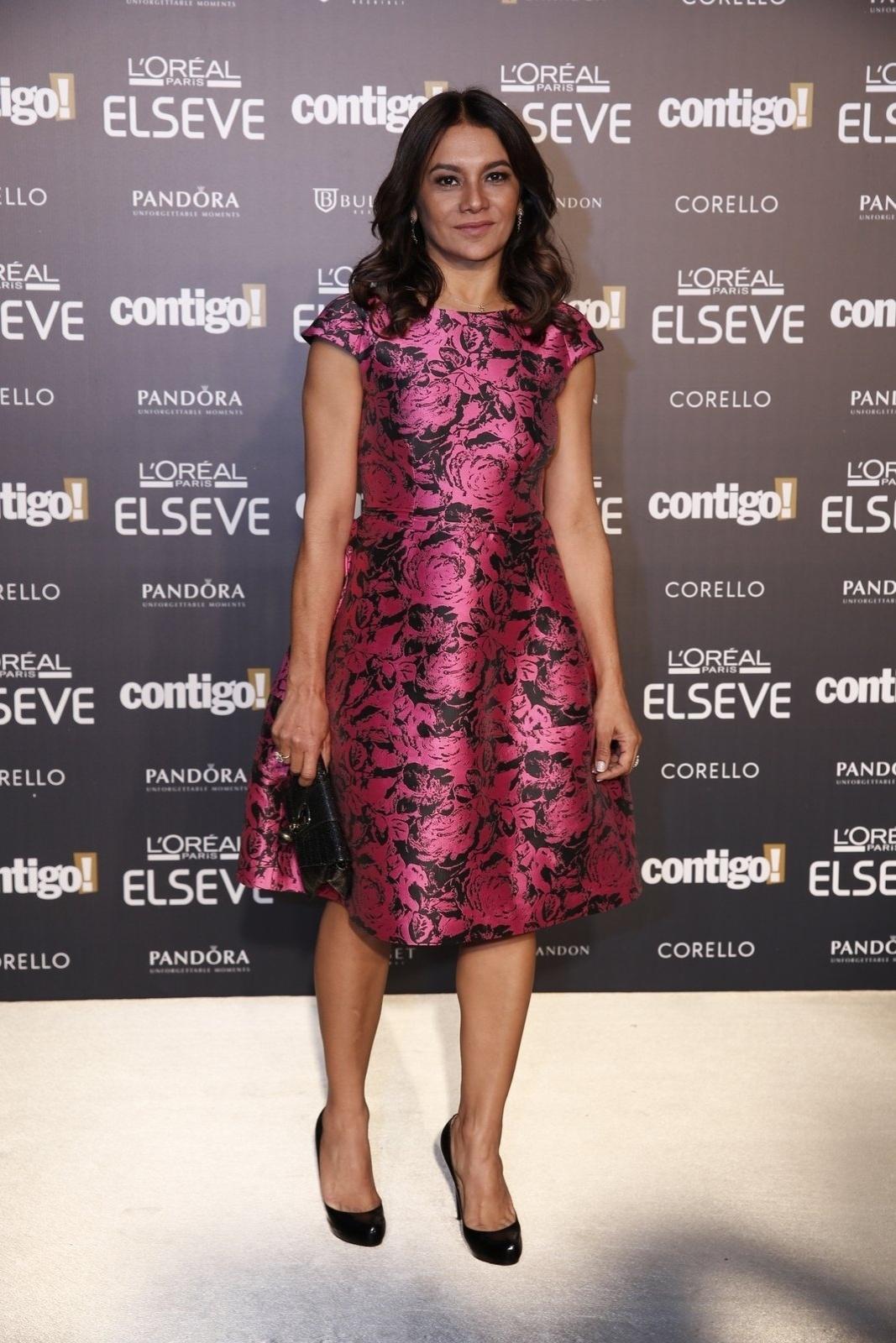 28.jul.2014 - A atriz Dira Paes prestigou a 16ª edição do Prêmio Contigo! de TV, realizado no hotel Copacabana Palace, no Rio. Ela concorreu ao troféu de atriz de minissérie por