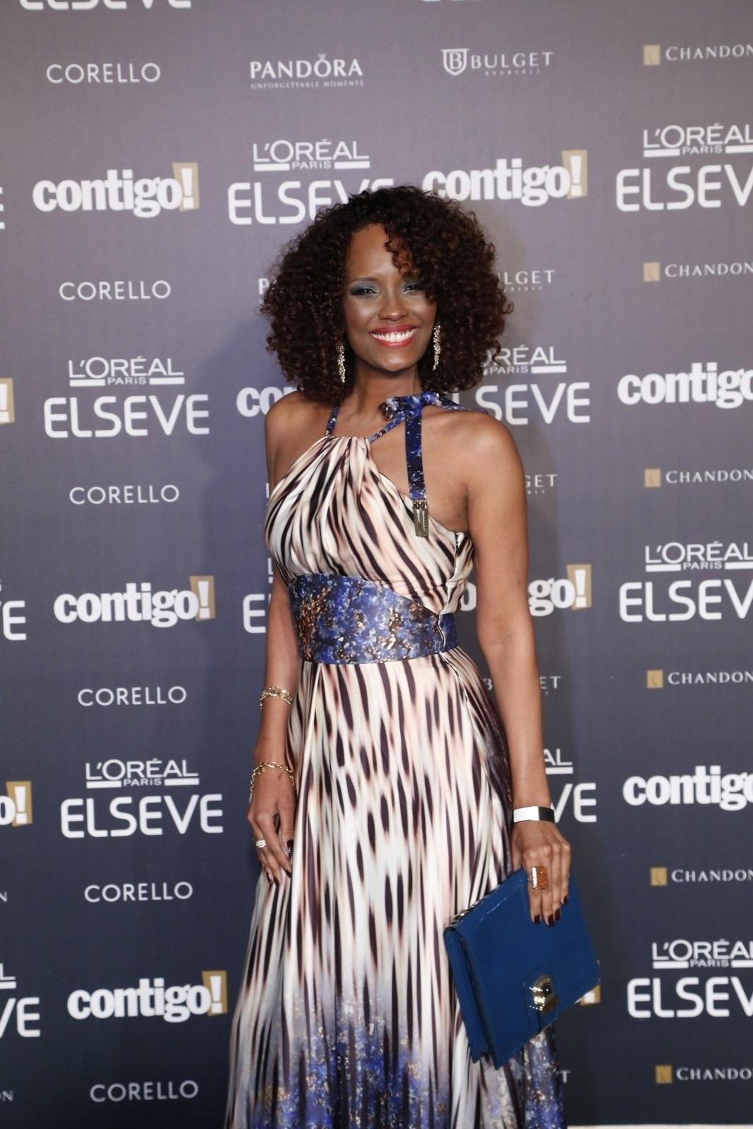 28.jul.2014 - A atriz Isabel Fillardis prestigou a 16ª edição do Prêmio Contigo! de TV, realizado no hotel Copacabana Palace, no Rio