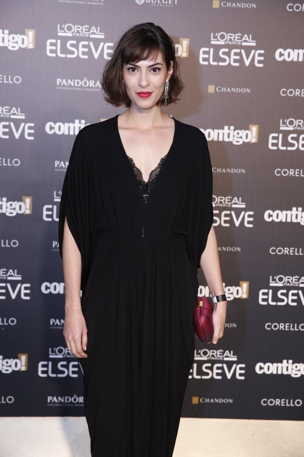 28.jul.2014 - A atriz Isabel Wilker prestigou a 16ª edição do Prêmio Contigo! de TV, realizado no hotel Copacabana Palace, no Rio