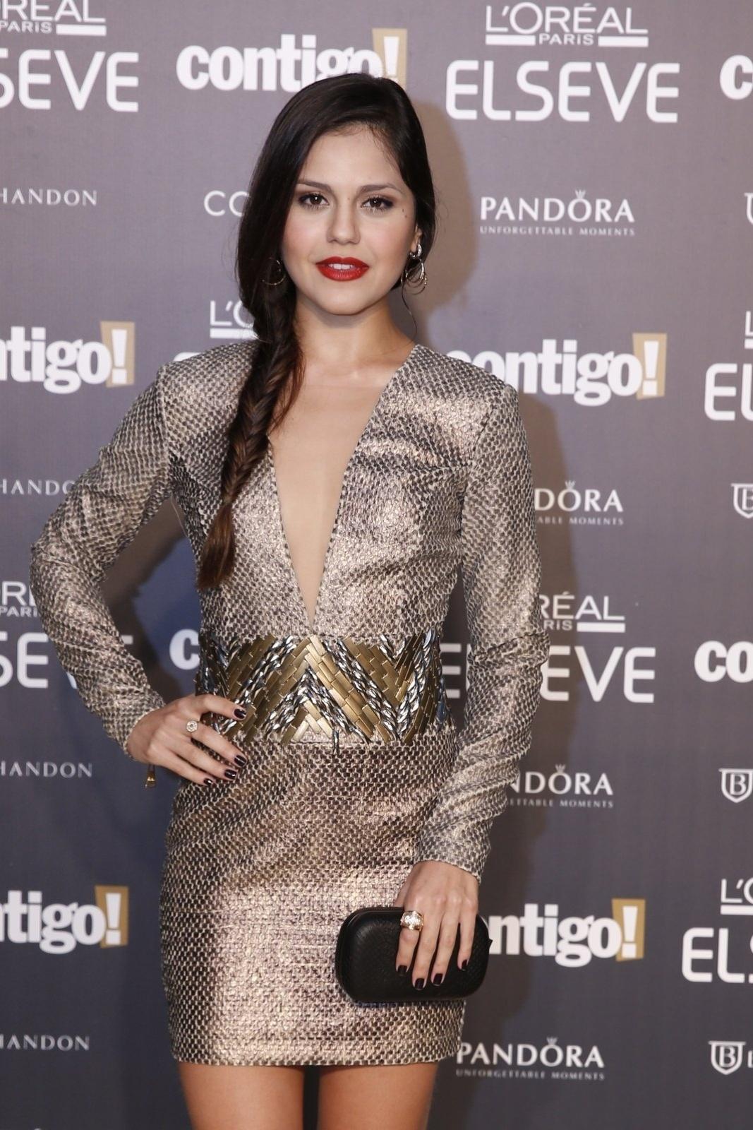 28.jul.2014 - A atriz Jéssika Alves prestigou a 16ª edição do Prêmio Contigo! de TV, realizado no hotel Copacabana Palace, no Rio