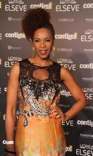 28.jul.2014 - A atriz Lica Oliveira prestigou a 16ª edição do Prêmio Contigo! de TV, realizado no hotel Copacabana Palace, no Rio