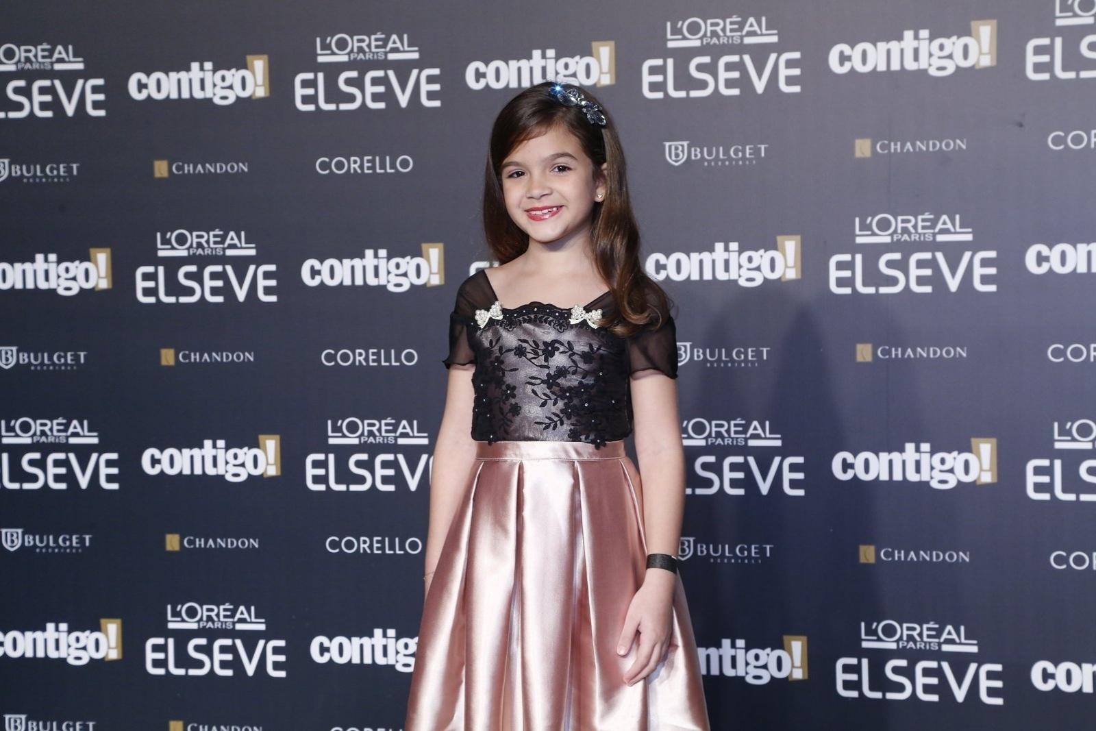 28.jul.2014 - A atriz Mel Maia prestigou a 16ª edição do Prêmio Contigo! de TV, realizado no hotel Copacabana Palace, no Rio. Ela concorreu ao troféu de melhor atriz infantil por