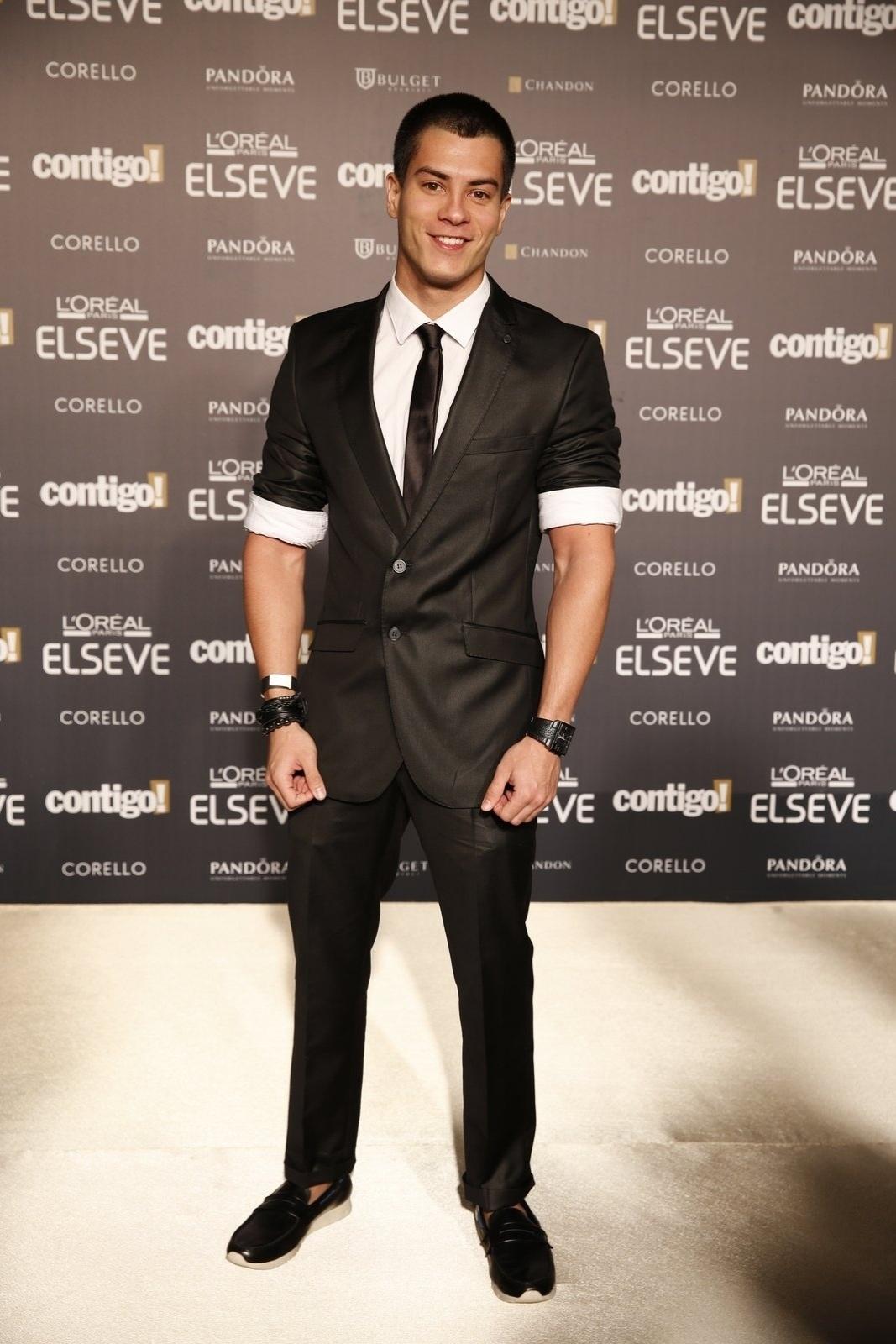 28.jul.2014 - O ator Arthur Aguiar prestigou a 16ª edição do Prêmio Contigo! de TV, realizado no hotel Copacabana Palace, no Rio