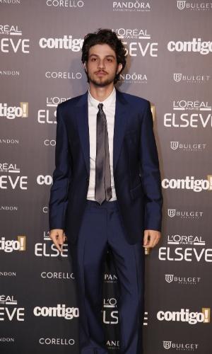 28.jul.2014 - O ator Chay Suede prestigou a 16ª edição do Prêmio Contigo! de TV, realizado no hotel Copacabana Palace, no Rio