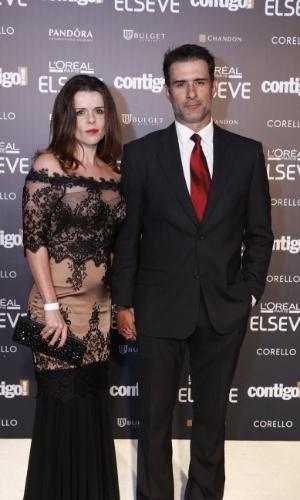 28.jul.2014 - O ator Marcos Pasquim prestigou a 16ª edição do Prêmio Contigo! de TV, realizado no hotel Copacabana Palace, no Rio