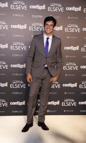 """28.jul.2014 - O ator Mateus Solano prestigou a 16ª edição do Prêmio Contigo! de TV, realizado no hotel Copacabana Palace, no Rio. Ele concorreu ao troféu de melhor ator por """"Amor à Vida"""""""