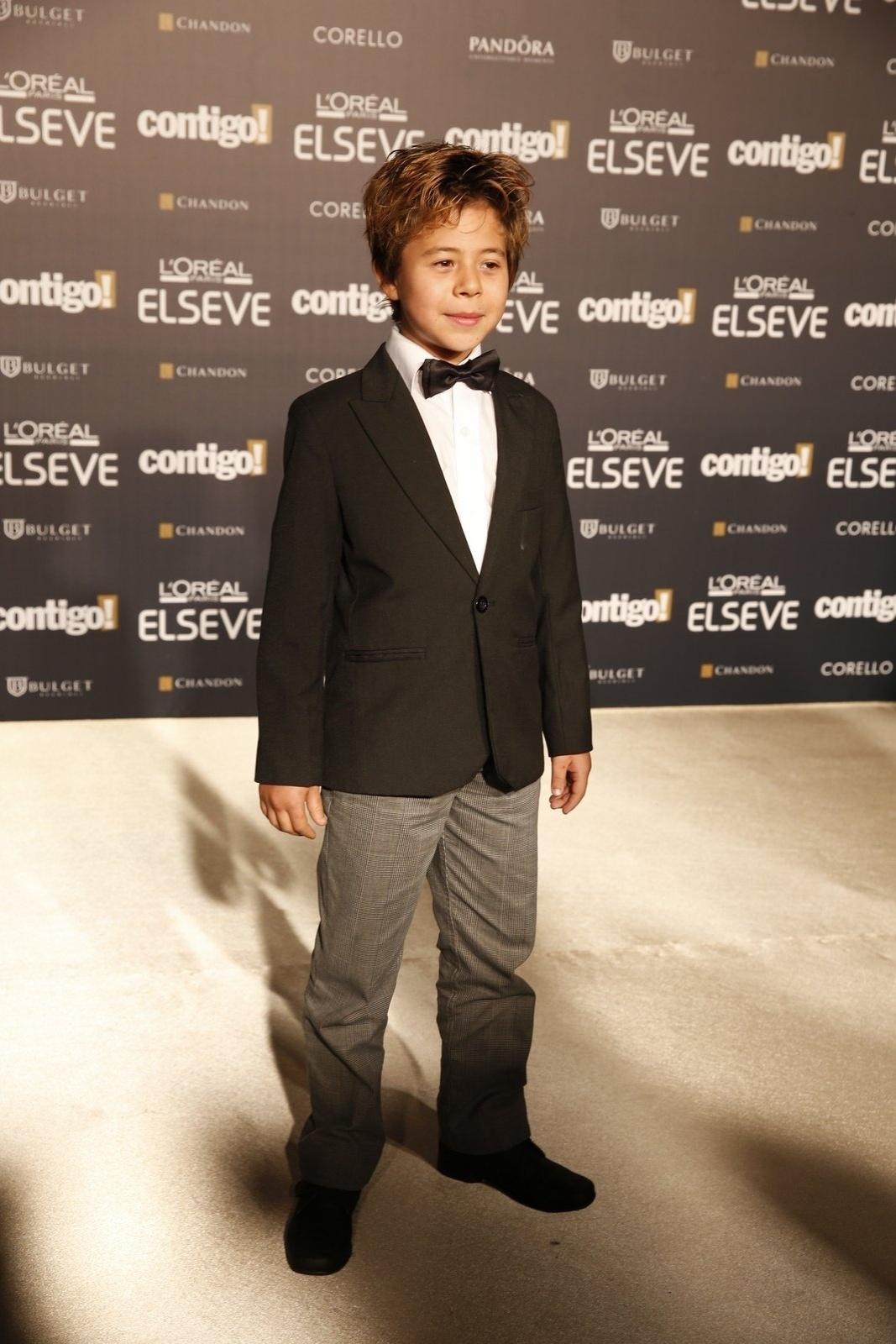 28.jul.2014 - O ator Tomás Sampaio prestigou a 16ª edição do Prêmio Contigo! de TV, realizado no hotel Copacabana Palace, no Rio. Ele concorreu ao troféu de melhor ator infantil por