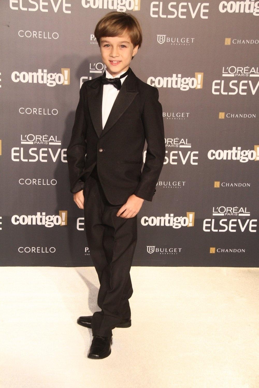 28.jul.2014 - O ator Vitor Figueiredo prestigou a 16ª edição do Prêmio Contigo! de TV, realizado no hotel Copacabana Palace, no Rio. Ele concorreu ao troféu de melhor ator infantil por