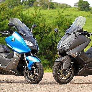 BMW C 600 Sport versus Yamaha TMax 530 - Infomoto