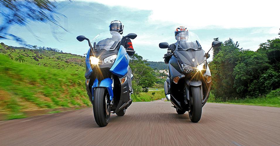 BMW C 600 Sport versus Yamaha TMax 530