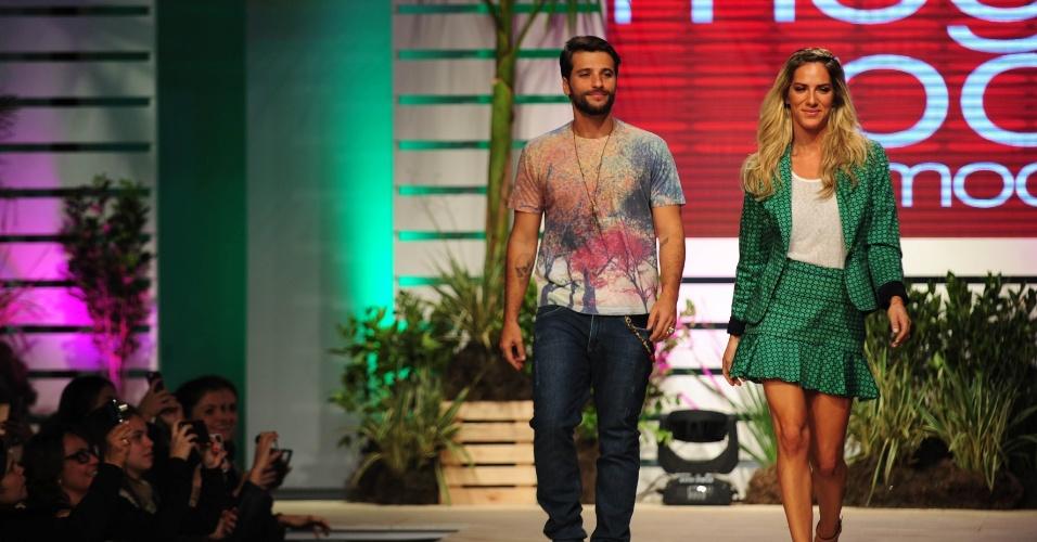Mega Polo Moda 2014 - Desfile Bruno Gagliasso e Giovanna Ewbank 3