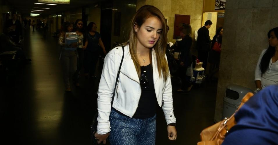 29.jul.2014 - A Mc Bruninha, que processou por plágio na música
