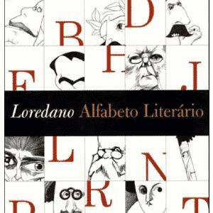 """Capa do livro """"Alfabeto Literário"""", de Cássio Loredano - Divulgação"""