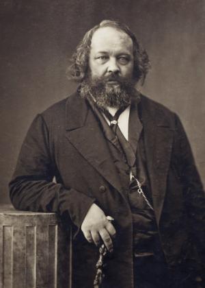 O filósofo russo e teórico do anarquismo Mikhail Bakunin - Reprodução