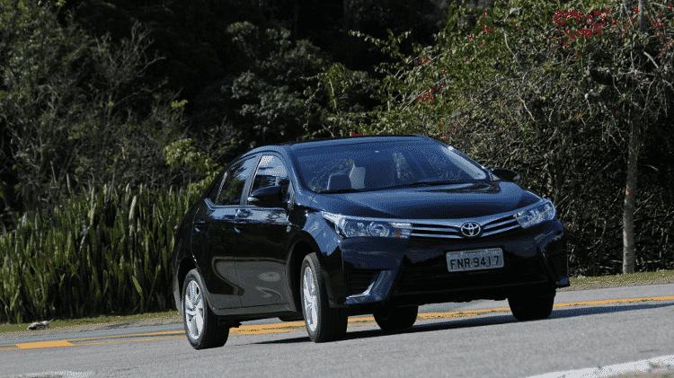 Toyota Corolla GLi M/T 2015 - Murilo Góes/UOL - Murilo Góes/UOL