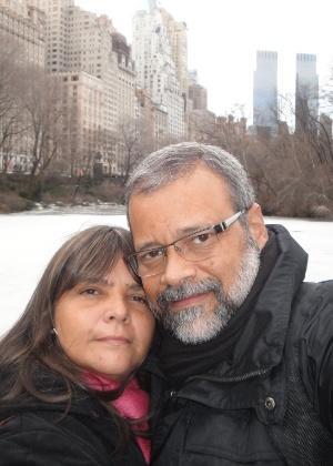 O casal Roberta e Weber Cecchetti tem uma agência de viagens no Rio de Janeiro - Arquivo pessoal