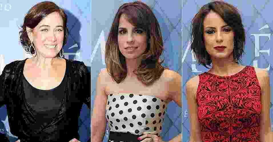 Lília Cabral, Maria Ribeiro e Andreia Horta - Divulgação/Rede Globo