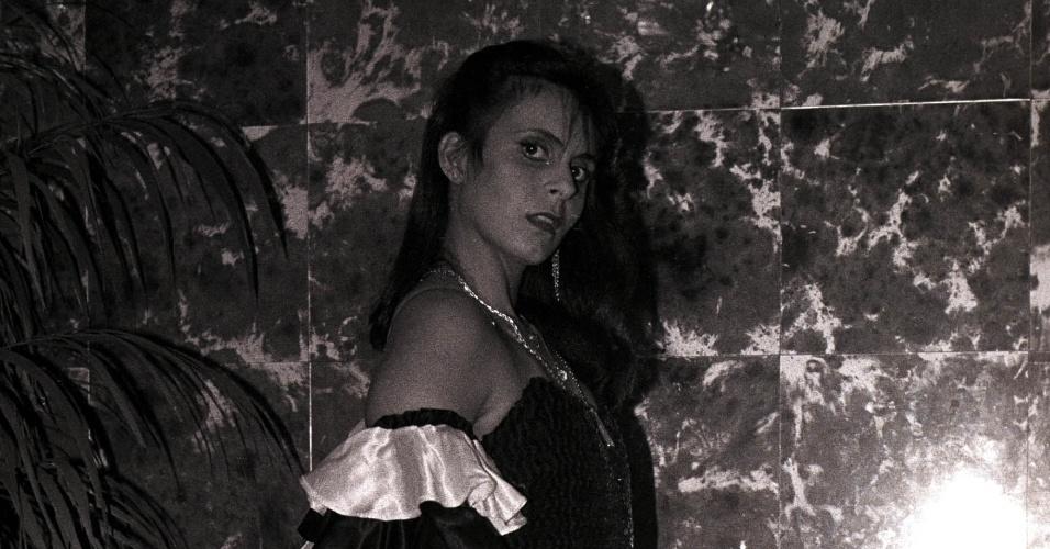 02.ago.1983 -Gretchen surgiu no ano de 1978 pelas mãos do argentino Santiago Malnati, conhecido nos meios musicais como Mister Sam. Em 1977, Sam a viu num programa de calouros junto com suas irmãs, que se apresentavam como