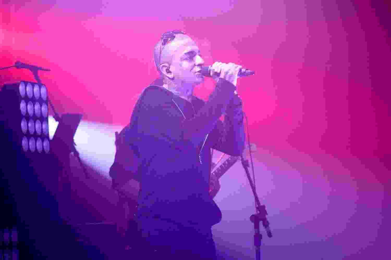 31.jul.2014 ? Mc Guimê se apresenta em clube noturno sertanejo, em São Paulo - Thiago Duran/AgNews