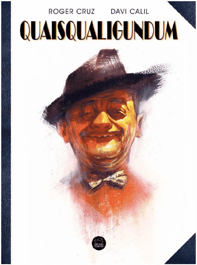 """Capa da HQ """"Quaisqualigundum"""", que recria personagens das músicas de Adoniran Barbosa - Divulgação"""