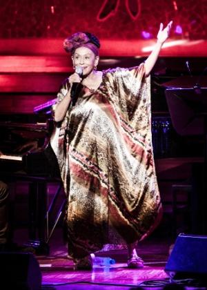 A cantora Omara Portuondo, destaque do Festival de Havana - Carlos Pericás