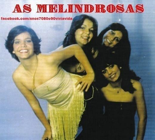 Capa do disco de As Melindrosas, grupo formado pelas irmãs Sula e Gretchen Miranda