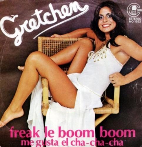 "Capa do disco ""Freak Le Boom Boom"", da cantora Gretchen de 1979"