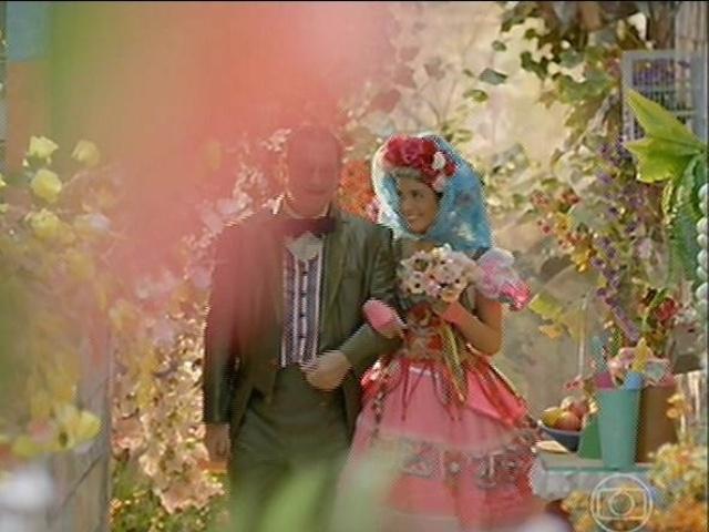 Giácomo e Rosinha se casam