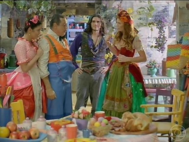 Milita e Viramundo visitam Giácomo e Rosinha