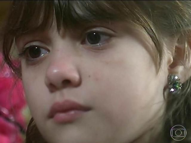 Pituquinha chora ao saber que Serelepe fugiu