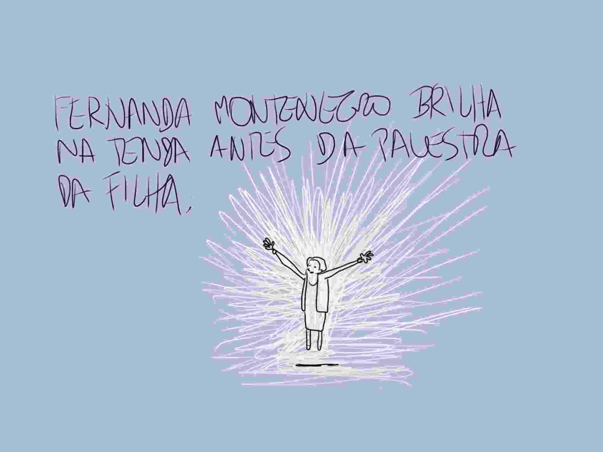 3.ago.2014 - A atriz Fernanda Montenegro foi ovacionada quando chegou à Tenda dos Autores, na Flip, para assistir à participação de sua filha, Fernanda Torres - Orlando