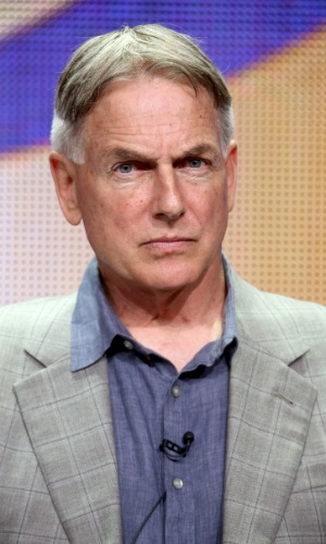 """17.jul.2014 - O ator Mark Harmon participa de evento sobre a série """"NCIS"""""""