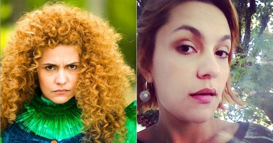 """4.ago.2014 - Paula Barbosa se despediu de sua personagem Gina com o fim de """"Meu Pedacinho de Chão"""" e transformou o visual"""