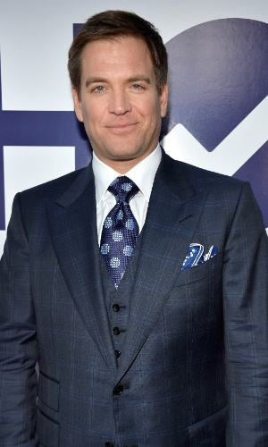 "8.jan,2014 - O ator Michael Weatherly, da série ""NCIS"", comparece ao People's Choice Awards"